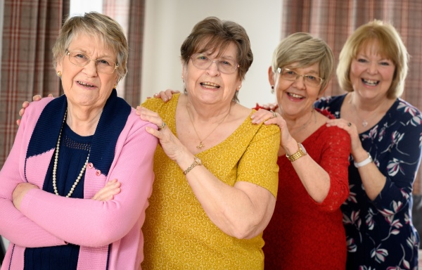 These Oddfellows members from Dereham truly have each other's backs