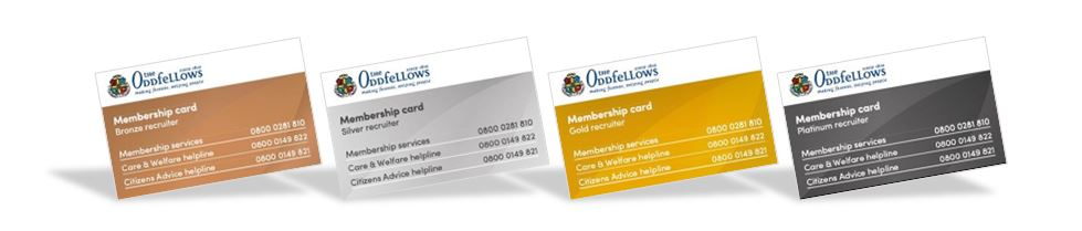 Oddfellows Membership Cards