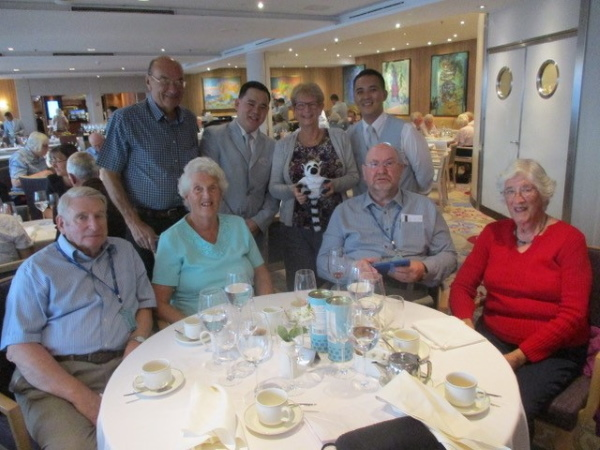 Oddfellows Active Travel Club Members on the cruise to Greenland